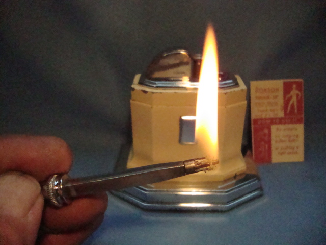 Old Ronson Table Lighters fixed