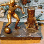 Soccer Fiure Strike Lighter