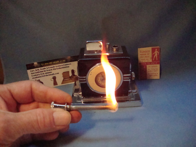 Ronson Clock Lighter Ronson Repair
